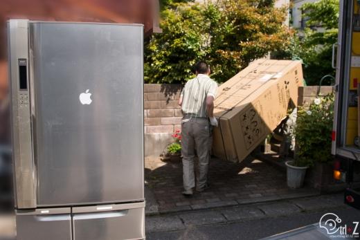 冷蔵庫搬入 ヤマトらくらく家財便