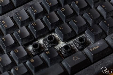 東プレ リアルフォース 分解清掃