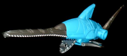 合体百獣プラモデル 鋸鮫王