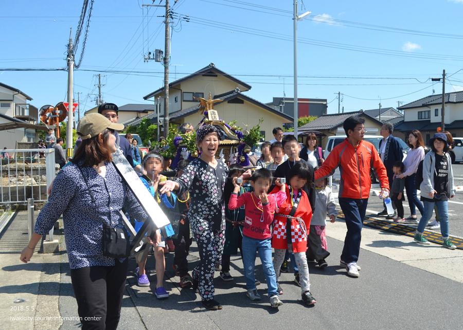 「四倉諏訪神社例大祭」が執り行われました! [平成30年5月5日(土・祝)]11