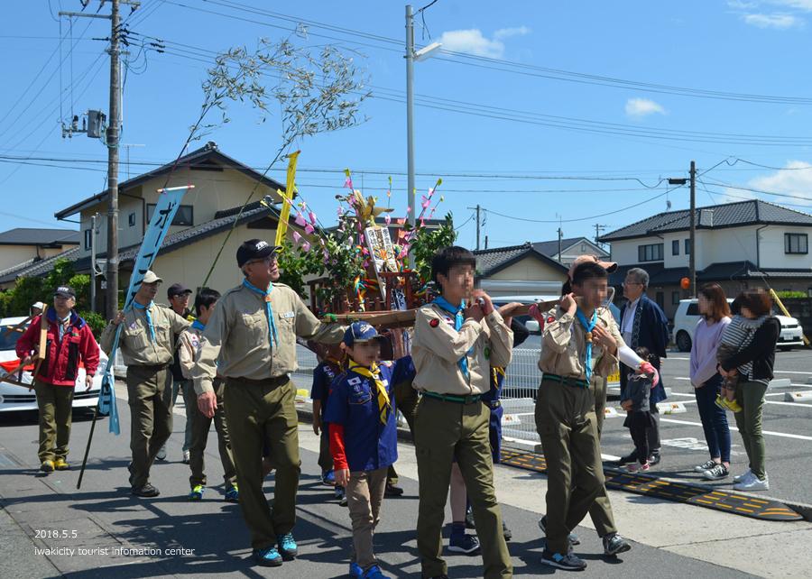 「四倉諏訪神社例大祭」が執り行われました! [平成30年5月5日(土・祝)]12