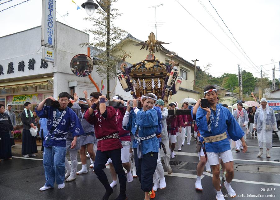 「四倉諏訪神社例大祭」が執り行われました! [平成30年5月5日(土・祝)]5