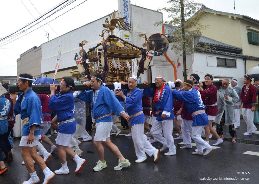 「四倉諏訪神社例大祭」が執り行われました! [平成30年5月5日(土・祝)]6