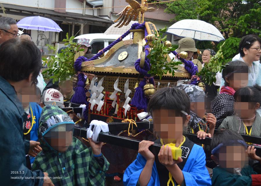 「四倉諏訪神社例大祭」が執り行われました! [平成30年5月5日(土・祝)]8