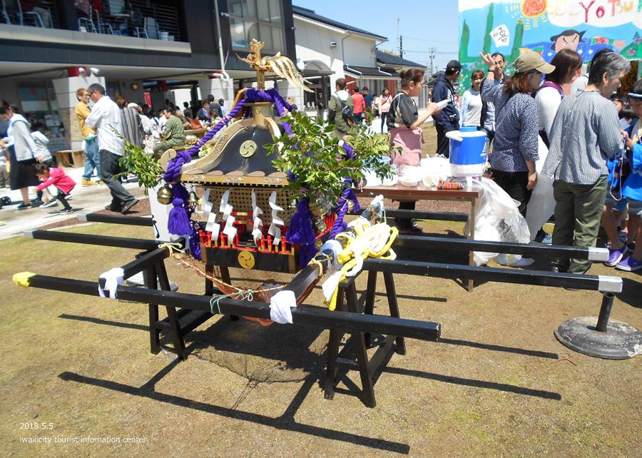 「四倉諏訪神社例大祭」が執り行われました! [平成30年5月5日(土・祝)]9