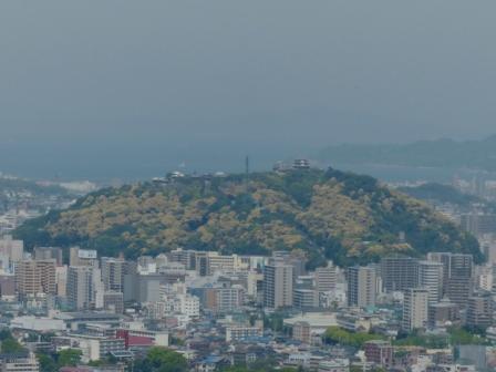 お城山 去年の写真