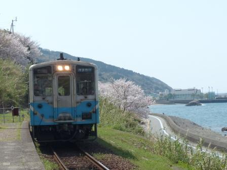 下灘駅 キハ54形
