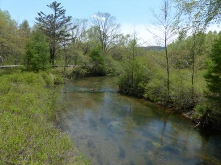湯川の流れ 2