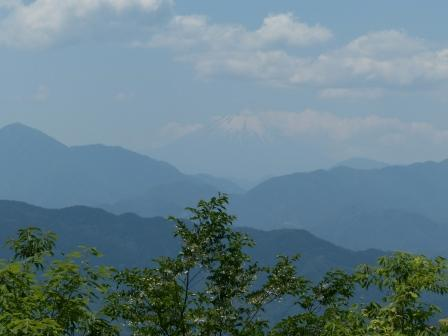 頂上からの眺望 (富士山) 1