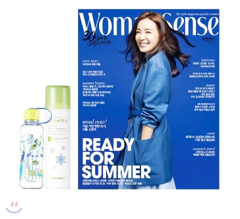 7_韓国女性誌_WOOMAN SENSE_ウーマンセンス_2018年6月号