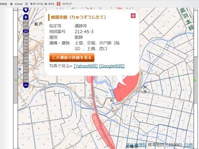 修正後の地図