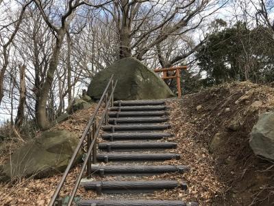 頂部への道