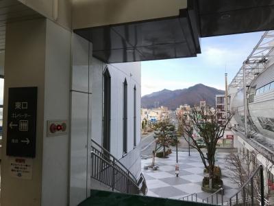 JR天童駅東口からの眺め
