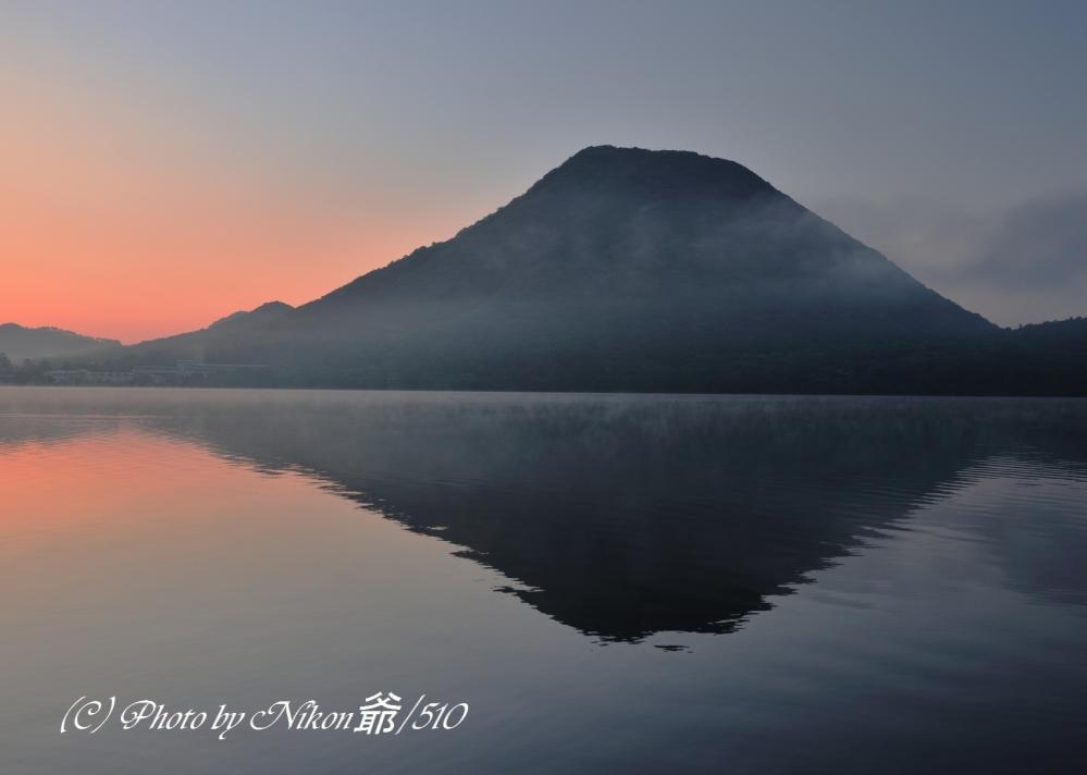 榛名湖 夜明けSN