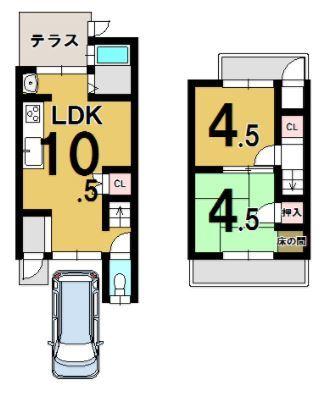 780 松尾鈴川町 43.33(愛京住宅)