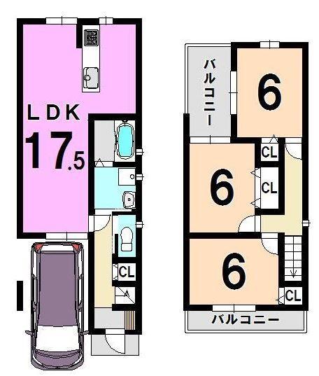 3080 松室扇田町 102.07 (愛京住宅)