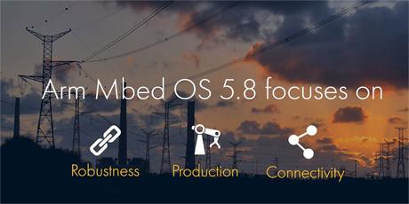 LoRaWANスタック標準搭載、Arm mbed OS 5.8 リリース