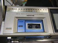 シャープ株式会社 ラジオ・カセット・カラーテレビジョン受信機 CT-5001重箱石06