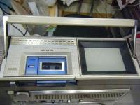 シャープ株式会社 ラジオ・カセット・カラーテレビジョン受信機 CT-5001重箱石05
