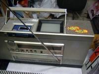 シャープ株式会社 ラジオ・カセット・カラーテレビジョン受信機 CT-5001重箱石04