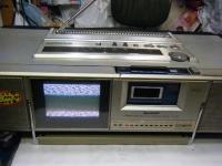 シャープ株式会社 ラジオ・カセット・カラーテレビジョン受信機 CT-5001重箱石12