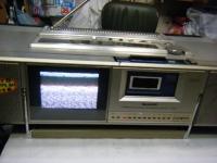 シャープ株式会社 ラジオ・カセット・カラーテレビジョン受信機 CT-5001重箱石11