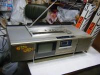 シャープ株式会社 ラジオ・カセット・カラーテレビジョン受信機 CT-5001重箱石09