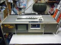シャープ株式会社 ラジオ・カセット・カラーテレビジョン受信機 CT-5001重箱石10
