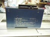 シャープ株式会社 ラジオ・カセット・カラーテレビジョン受信機 CT-5001重箱石18