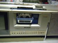 シャープ株式会社 ラジオ・カセット・カラーテレビジョン受信機 CT-5001重箱石14