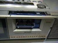 シャープ株式会社 ラジオ・カセット・カラーテレビジョン受信機 CT-5001重箱石13