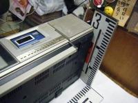 シャープ株式会社 ラジオ・カセット・カラーテレビジョン受信機 CT-5001重箱石23