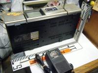 シャープ株式会社 ラジオ・カセット・カラーテレビジョン受信機 CT-5001重箱石20
