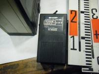 シャープ株式会社 ラジオ・カセット・カラーテレビジョン受信機 CT-5001重箱石28