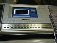 シャープ株式会社 ラジオ・カセット・カラーテレビジョン受信機 CT-5001重箱石22
