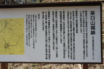 茶臼山城10