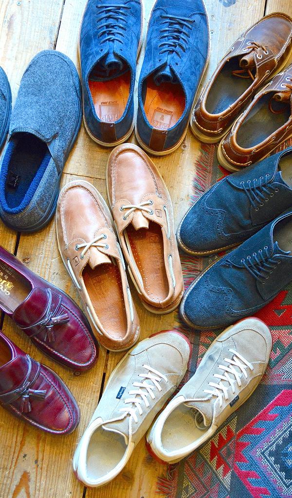 革靴USEDメンズレザーシューズスタイルコーデ@古着屋カチカチ01