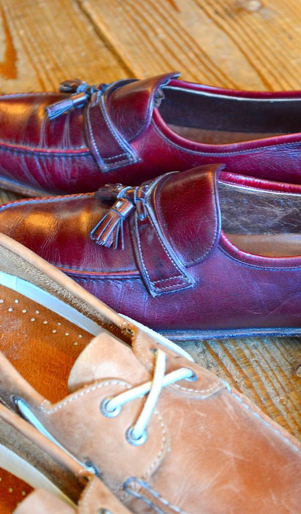革靴USEDメンズレザーシューズスタイルコーデ@古着屋カチカチ05
