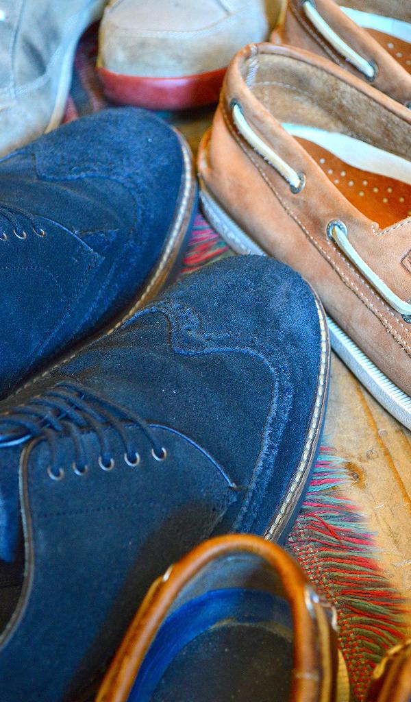 革靴USEDメンズレザーシューズスタイルコーデ@古着屋カチカチ06