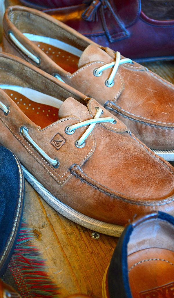 革靴USEDメンズレザーシューズスタイルコーデ@古着屋カチカチ07