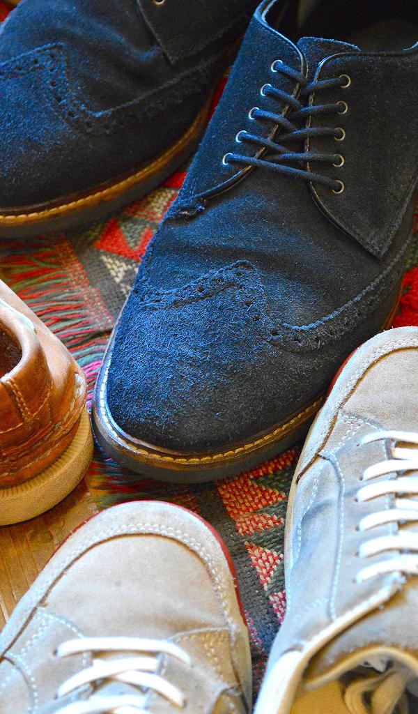 革靴USEDメンズレザーシューズスタイルコーデ@古着屋カチカチ010