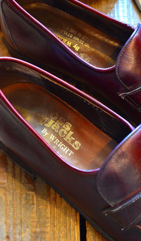 革靴USEDメンズレザーシューズスタイルコーデ@古着屋カチカチ013