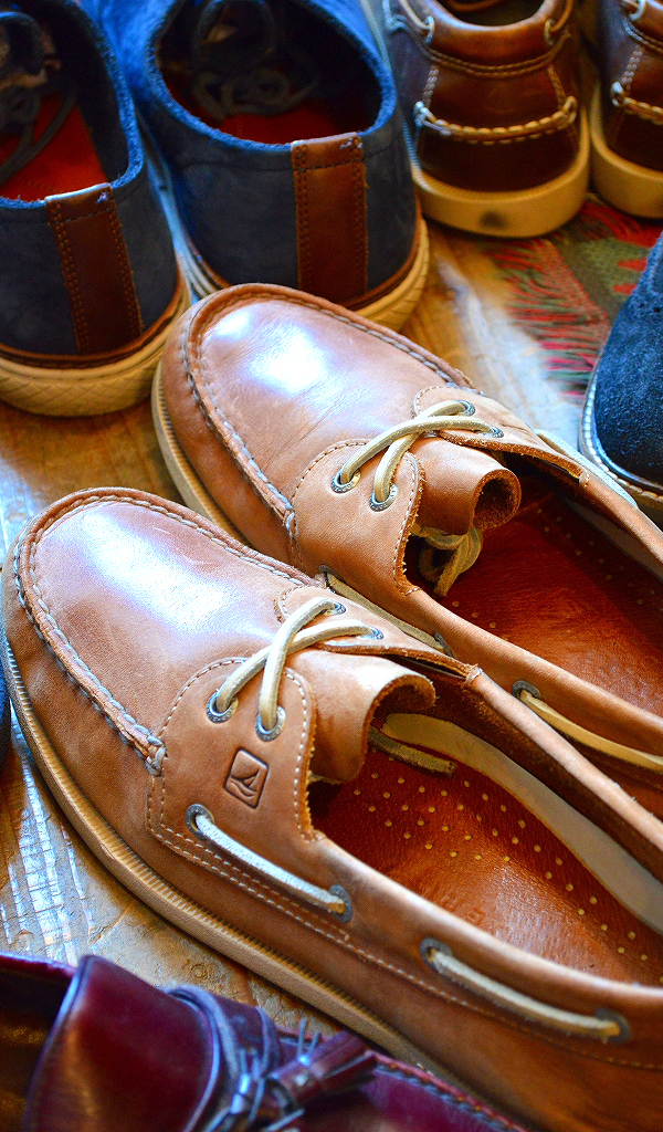 革靴USEDメンズレザーシューズスタイルコーデ@古着屋カチカチ014