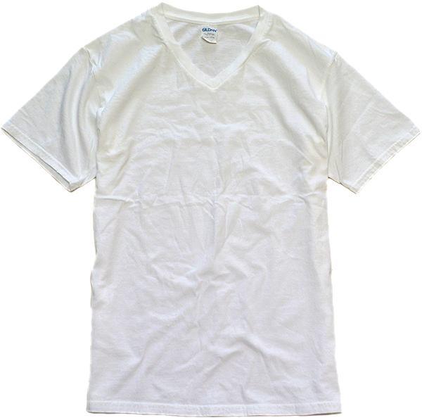 メンズレディース無地白Tシャツ画像@古着屋カチカチ03