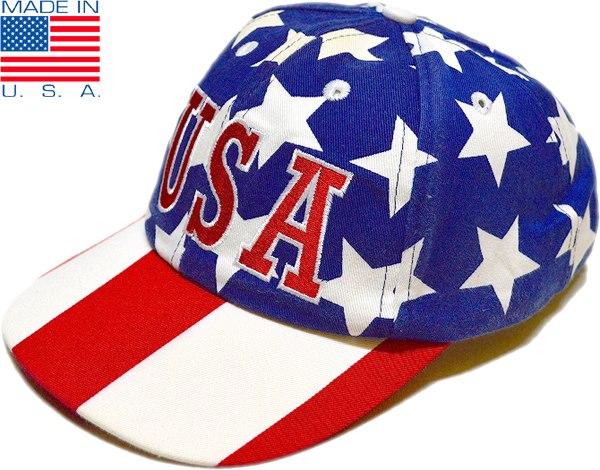 USEDベースボールキャップ帽子画像メンズレディースコーデ着こなし@古着屋カチカチ07