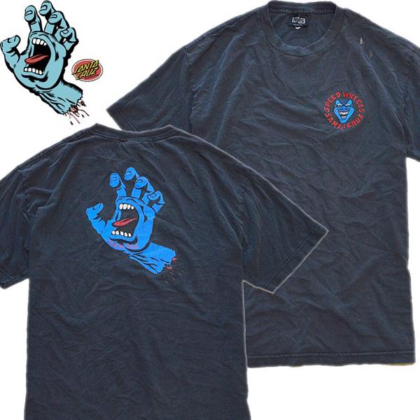 SK8スケートストリートプリントTシャツ画像メンズレディースコーデ@古着屋カチカチ01