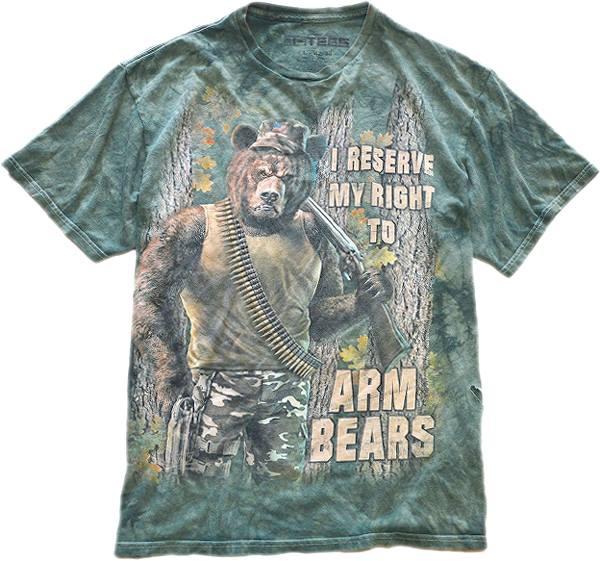 USED1点もの面白プリントTシャツ総柄デザイン@古着屋カチカチ06