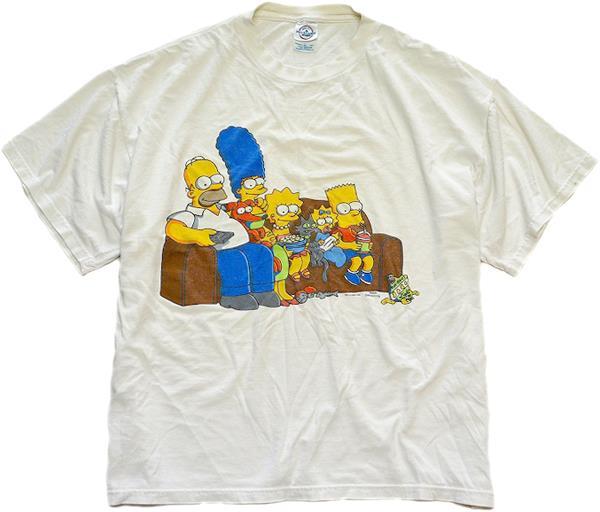 UsedキャラクタープリントTシャツ画像メンズレディースコーデ@古着屋カチカチ02