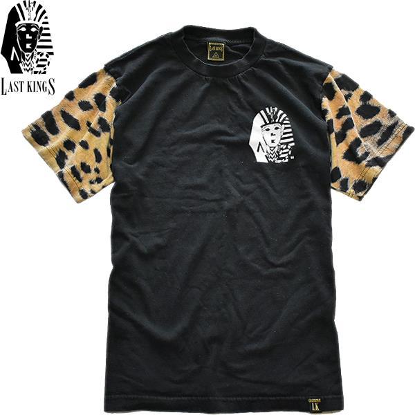 インパクトあるプリントTシャツ画像メンズレディースコーデ@古着屋カチカチ04