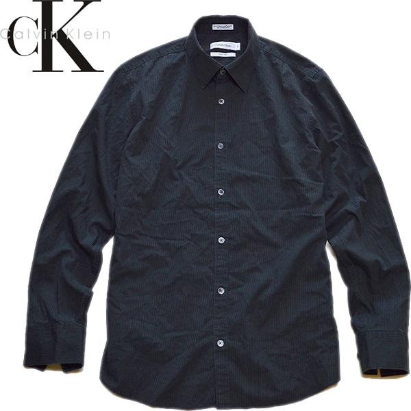 カルバンクラインCK長袖シャツ画像@古着屋カチカチ (5)